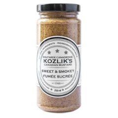 Kozlik's Sweet & Smokey Mustard - 8 oz Jar
