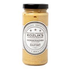 Kozlik's Horseradish Mustard - 8 oz Jar