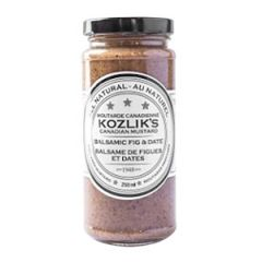 Kozlik's Balsamic Fig & Date Mustard - 8 oz Jar