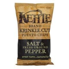 Kettle Salt & Pepper Potato Chips - 5 oz Bag