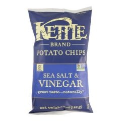 Kettle Salt & Vinegar Potato Chips - 5 oz Bag