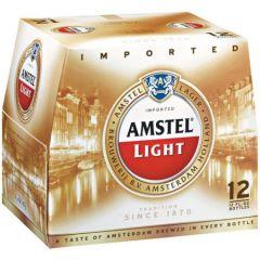 Amstel Light / 12-pack