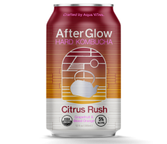 AfterGlow Hard Kombucha Citrus Rush / 6 Pack of Cans