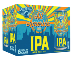 Flying Bison All America City IPA / 6-pack of 12 oz. cans