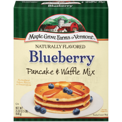 Maple Grove Blueberry Pancake & Waffle Mix