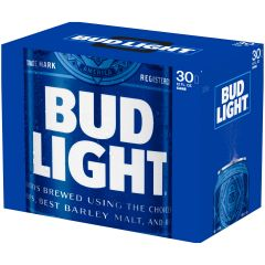 Bud Light / 30-pack cans