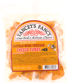 Yancey's Fancy Buffalo Wing Cheese Curds 8-9 Oz Portion