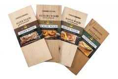 Charcoal Companion Hickory Wood Gourmet Grilling Plank