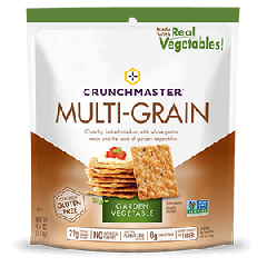 Crunchmaster Roasted Vegetable Multi-grain Crackers