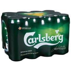 Carlsberg / 12-pack cans