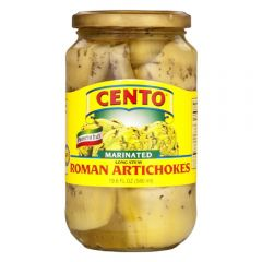 Cento Long Stem Roman Artichokes - 19.6 oz Jar