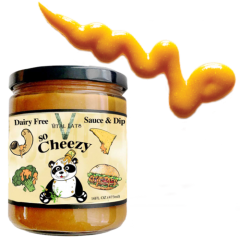 Vital Eats So Cheezy Vegan Dip - 16 oz Jar