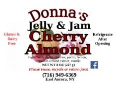Donna's Pepper Jelly & Jam Cherry Almond
