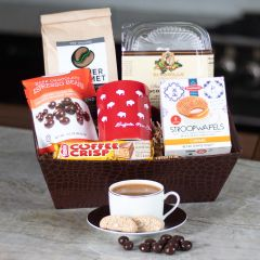 Coffee Break Gift Basket (#410)