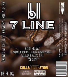 Belt Line Brewery 7 Line Porter / 4-pack cans