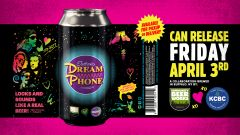 Community Beer Works Electronic Dream Phone/ 4-pack cans