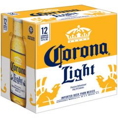 Corona Light / 12-pack bottles