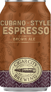 Cigar City Cubano-style Espresso Brown Ale / 4-pack cans