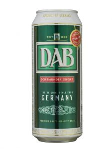 DAB Dortmunder Lager - 4 Pack of 16.9 oz Cans