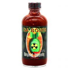 Da Bomb Beyond Insanity Hot Sauce - 4 oz Bottle
