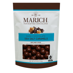 Marich Dark Chocolate & Sea Salt Caramels 4.75 oz