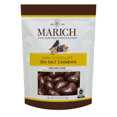 Marich Dark Chocolate & Sea Salt Cashews 4.75 oz