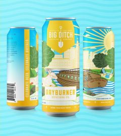 Big Ditch Dayburner Refreshing IPA - 4 Pack of Cans