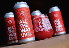 Mast Landing Brewing Co. All The Way Up: Strawberry Raspberry / 4-pack cans