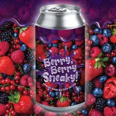 Hamburg Berry, Berry Sneaky! / 4 Pack of Cans