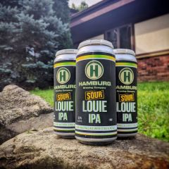Hamburg Sour Louie - 4 Pack of 16 oz Cans