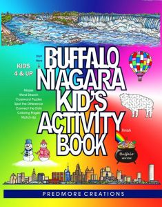 Predmore Buffalo Niagara Kids Activity Book