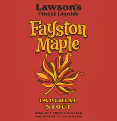 Lawson's Finest Liquids Fayston Maple Stout / 4-pack cans
