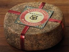 Sartori Black Pepper BellaVitano Cheese 8 -9 Oz Piece