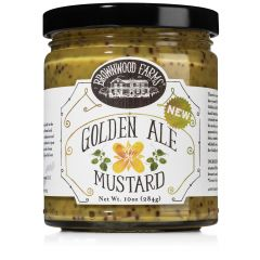 Brownwood Farms Golden Ale Mustard