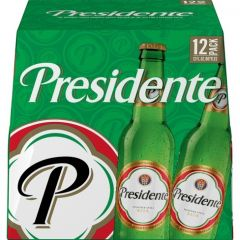 Presidente Pilsner - 12 Pack of 12 oz Bottles