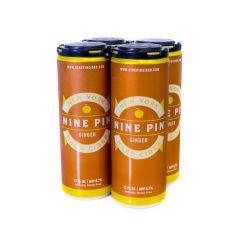 Nine Pin Ginger Cider / 4 Pack of Cans