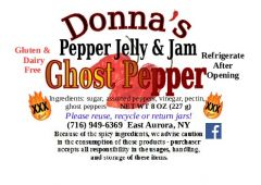 Donna's Pepper Jelly & Jam Ghost Pepper