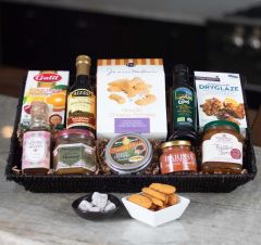 The Gourmet Sampler Gift Basket (#315)