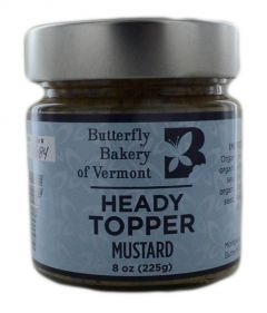 Butterfly Bakery of Vermont Heady Topper Mustard