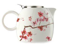 Tea Forte Pugg Teapot w/ Infuser - Cherry Blossom