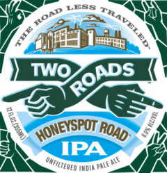 Two Roads Honeyspot Road IPA  / 4-pack cans