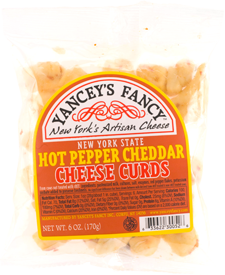 Yancey's Fancy Hot Pepper Cheese Curds 8-9 Oz Portion