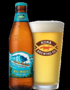 Kona Big Wave Golden Ale / 6 Pack of Bottles