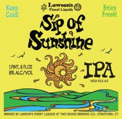 Lawson's Sip Of Sunshine / 4-pack cans