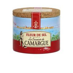 Le Saunier De Camargue Fleur De Sel - 4.4 oz Container