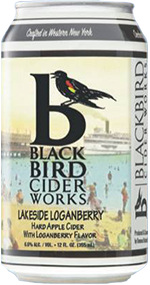 BlackBird Cider Works Lakeside Loganberry / 4-pack cans
