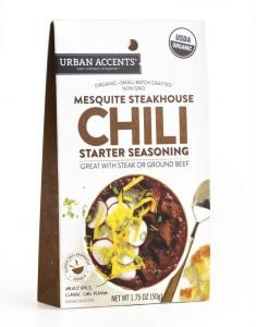 Urban Accents Mesquite Steakhouse Chili Starter Seasoning