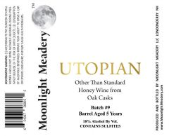 Moonlight Meadery Utopian #9 / 12.7 oz bottle