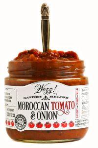 Wozz! Moroccan Tomato Onion Relish