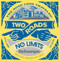 Two Roads No Limits Hefeweizen  / 4-pack cans